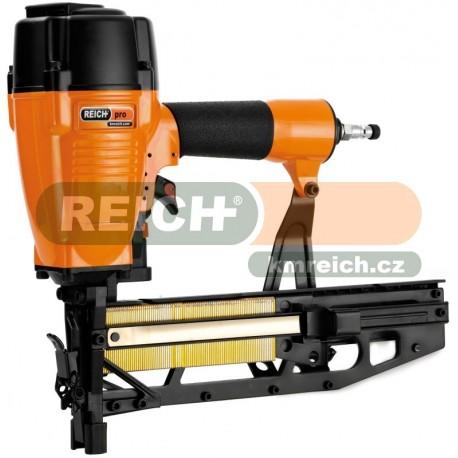 Sponkovačka / Hřebíkovačka REICH 3718 PRO na sponky G (32 - 64mm), Q (45 - 63mm), T-htřebíky (32 - 65mm)