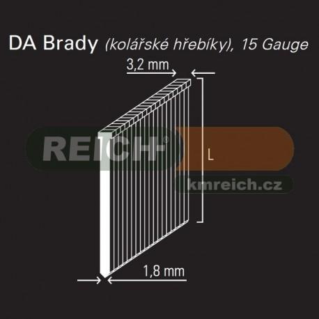 Hřebík DA brad REICH by Holz-Her 1,8mm (25 GALV)