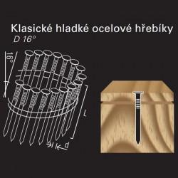 Hladký hřebík ve svitku REICH by Holz-Her drát 16° (3,1 x 80 H BK)