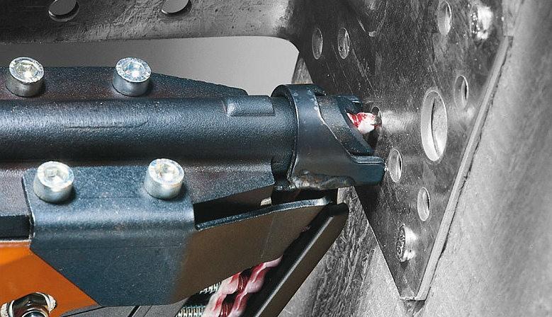 Hřebíkovačka Reich 3522 PRO na hřebíky v páse spojené plastem (40 - 60mm)