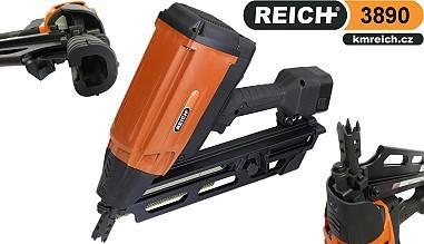 Hřebíkovačka Reich 3890 PRO na hřebíky v páse spojené papírem (50 - 90mm)